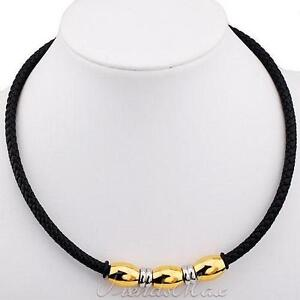 Mens Leather Necklace | eBay