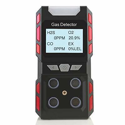 4 Gas Monitor Multi Gas Detector Sound Light Shock 4 Gas Meter Tester Analyzer