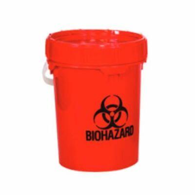 Solmetex Biohazard Sharps Container Disposal 5 Gallon