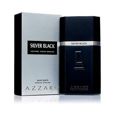 Silver Black By Azzaro 3 4 Oz Edt Cologne For Men New In Box