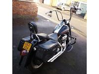 Harley Davidson Softail Fatboy cruiser