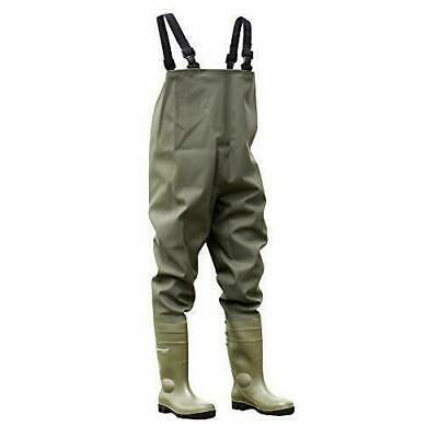 Dunlop Protomastor 142VP-PT Chest Waders Full Safety UK 8  for sale  Shipping to Ireland