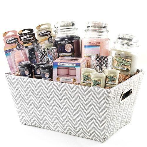 Candle gift baskets ebay