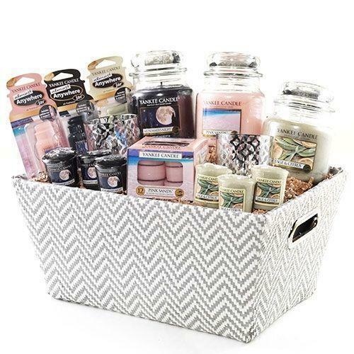 Candle gift baskets ebay for Christmas candle gift ideas
