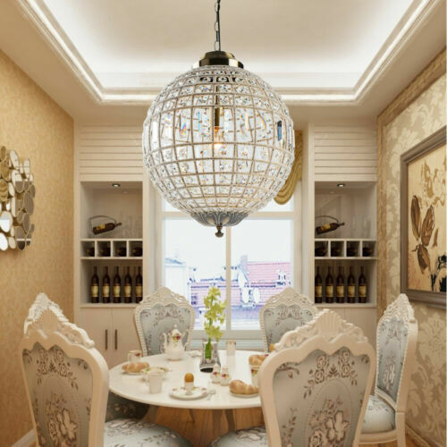 Details about Vintage Crystal Chandeliers Pendant Lights Royal Empire Ball Style Ceiling Lamp