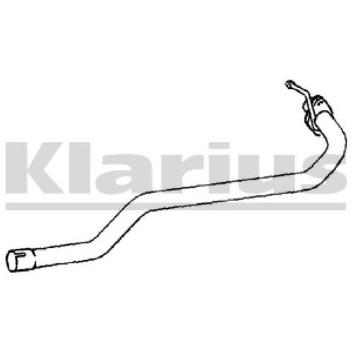 1x KLARIUS OE Quality Replacement Exhaust Pipe Exhaust For MAZDA Diesel