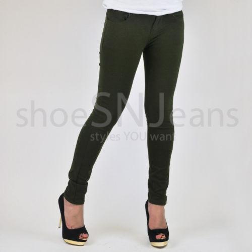 6534f225b6e773 Olive Green Leggings   eBay