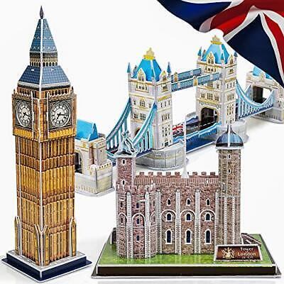 3D Puzzles for Adults and Kids UK - Educational Puzzles - Architectural Puzzles