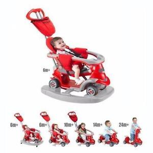 BRAND NEW, Smart Trike Bicycle for Kids All in One (6-in-1) from Stage 1-Stage 6- RED