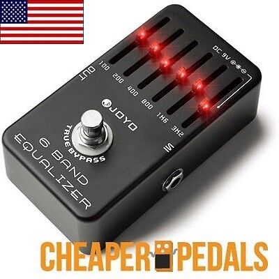 - NEW JOYO JF-11 6 BAND EQ Equalizer Guitar Pedal *US Seller* FREE Shipping!