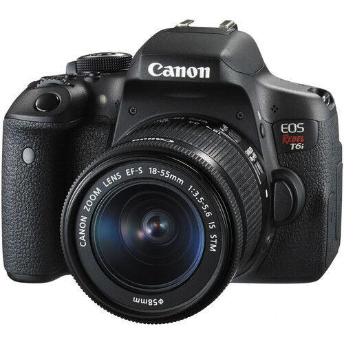 Canon EOS Rebel T6i w/ 18-55mm IS STM Digital SLR Camera Kit - *NEW*