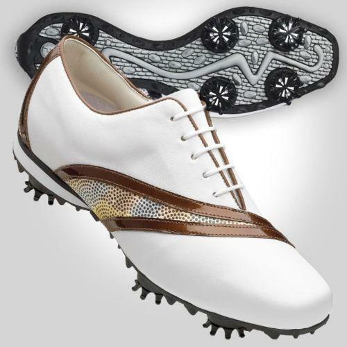 Womens Footjoy Golf Shoes Size 8 Ebay