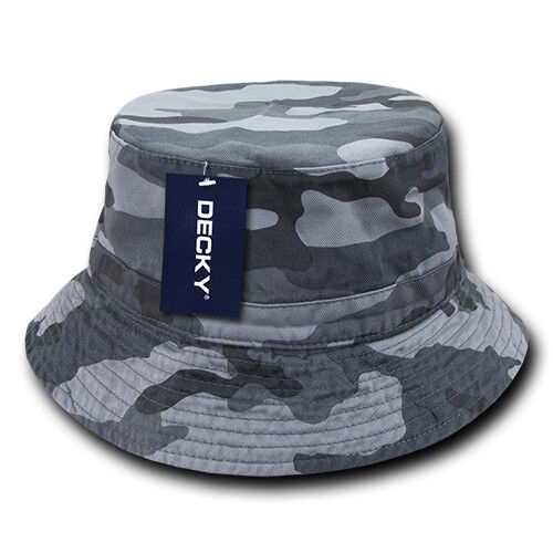 d10fdbfad96 Decky Bucket Fishermen Boonie Hats Caps Washed Cotton Twill Fitted ...