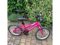 "Girls bike - Ridgeback Melody (16"" wheels) 5-7yrs"