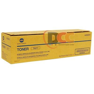 Genuine Konica Minolta Bizhub 223 283 Toner Cartridge Tn217 A202031