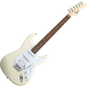 Fender Squier Bullet Strat Tremolo HSS RW Arctic White E-Gitarre | Neu