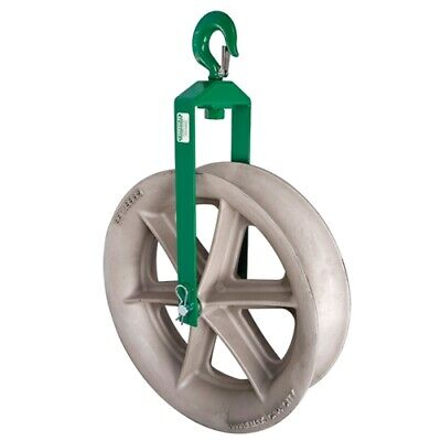 Greenlee 8024 24 Cable Puller Hook Sheave Unit With 8000 Lbs Capacity