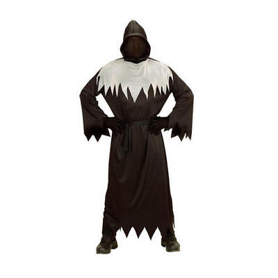 Boys Kids Childs Faceless Ghost Halloween Fancy Dress Costume Outfit 11-13 Yrs