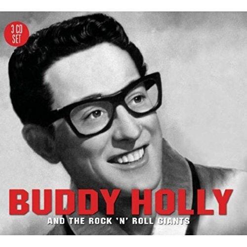 BUDDY HOLLY - AND THE ROCK'N'ROLL GIANTS 3 CD NEU