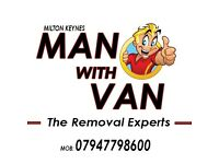 MAN WITH VAN ¦ MILTON KEYNES REMOVAL EXPERTS ¦ PRIVATE & COMMERCIAL ¦ WASTE COLLECTIONS ¦ CLEANING