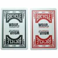 Cartes Kem Poker - BICYCLE/FOURNIER WSOP 2013 ENSEMBLE TOURNOIS