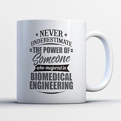 Biomedical Engineering Coffee Mug - Never Underestimate Biomedical Engineering -