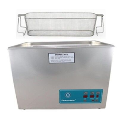 Crest P1800d-132 Ultrasonic Cleaner W Power Control-perf Basket
