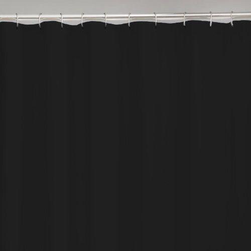 Black Shower Curtain Liner