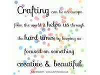 Cardmaking things wanted for charity