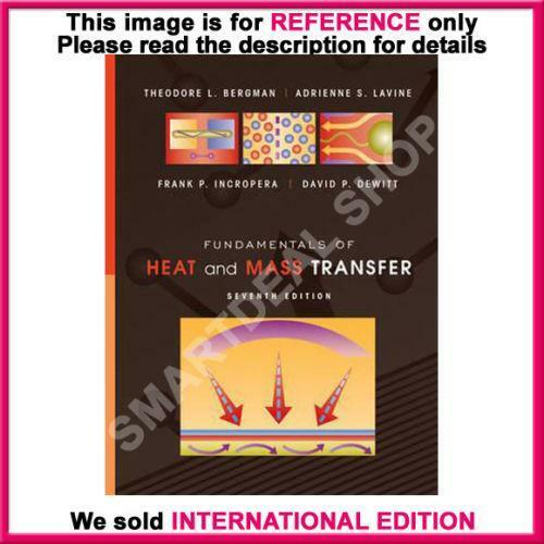 fundamentals of heat and mass transfer 8th edition citation