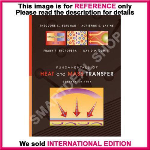 fundamentals of heat and mass transfer 8th edition citation