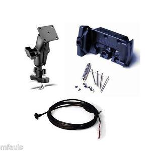 garmin zumo 550 500 450 motorcycle cradle mount cable ebay. Black Bedroom Furniture Sets. Home Design Ideas