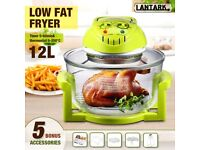 Halogen Oven Cooker 1300W 12L BOXED Oil Free Cooking