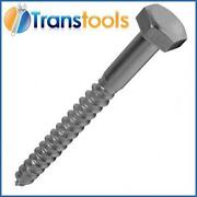 Hex Head Wood Screws