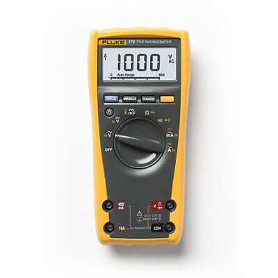 Fluke 179 Esfp Trms Acdc Dmm 1000v Analog Bargraph Backlight Temp