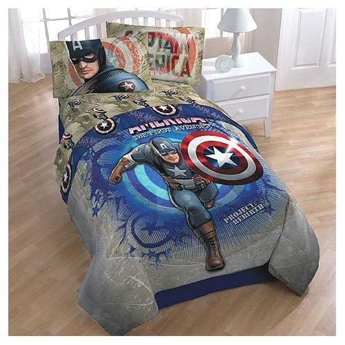 Captain America Bedding Ebay