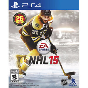 NHL 15 PS4 For sale