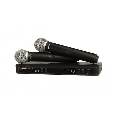 Shure BLX288/PG58 Dual Vocal Wireless System - NEW