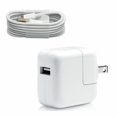 Apple Original Apple iPad Mini/Air 1 2 3 Lightning USB Sync Cable + 12W Charger