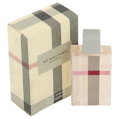 Mini Burberry London Fabric by Burberry .15 oz EDP Perfume for Women New In Box
