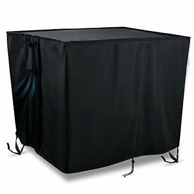 Kasla Fire Pit Table Cover Square 30 x 30 x 25 inch - 600D Heavy Duty PVC Wat...