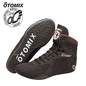 Otomix Stingray High Top Bodybuilding Gym MMA Wrestling Boxing Shoes Mens/Wo