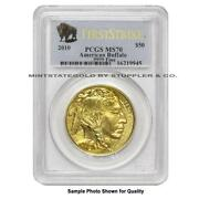US $50 Gold Buffalo