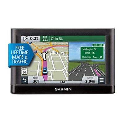 Garmin N Vi 65Lmt 6  Advanced Gps System 010 01211 04  Life Time Maps   Traffic