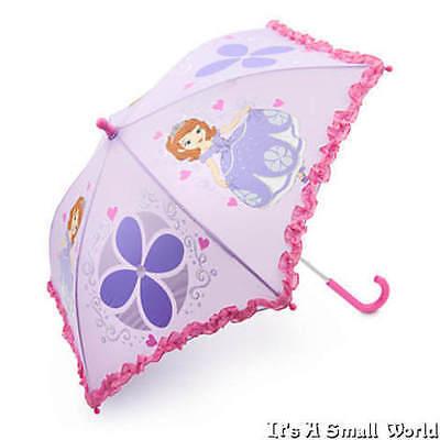Disney Store Princess Sofia The First Umbrella Rainwear for