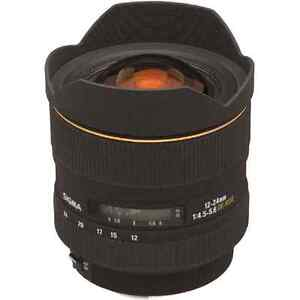 Sigma 12-24 lens for canon