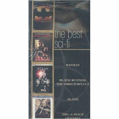 The Best Sci-Fi (4-Pack) (DVD, 2003, 4-Disc Set, Collection) Plus Blade
