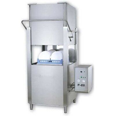 MVP Group F-22, High Temp Door Type Dishwasher, 45 Racks Per Hour (Energy Star)