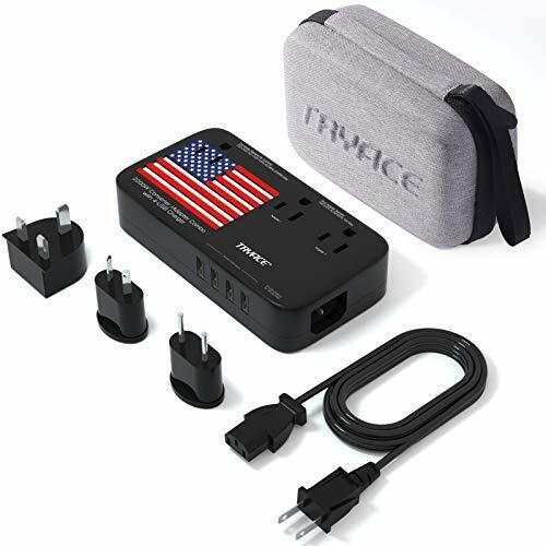 TRYACE 2200W Travel Voltage Converter with 10A Dual Adapter