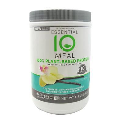 Essential 10 Meal Protein Powder  Vanilla  1 19Lb 844334010324J1437